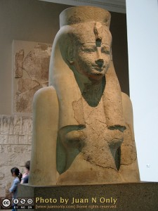 Egyptian sculpture of the goddess Hathor 18th Dynasty, about 1400 BC